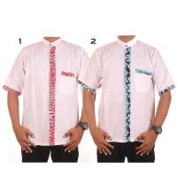 Baju koko batik Alif - Baju muslim atasan pria