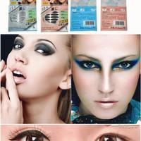 Jual Scot Mata (Sticker Eyeliner 72psg) size L ~ Tebal - Black/Hitam Murah