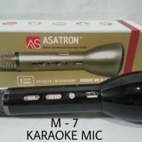 Jual Mic Karaoke Asatron M-7/Speaker/Bluetooth/Mp3(All in one) Murah