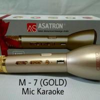 Mic Karaoke Asatron M-7/Speaker/Bluetooth/Mp3(All in one)