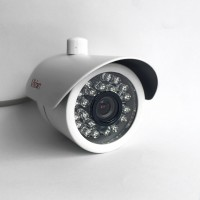 CCTV Kamera Outdoor CCD Sony 420 TVL 1/3 Color Vandalproof - IR 24 Led