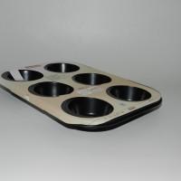 Jual Fackelmann Muffin Pan [6 Cups] loyang cupcake 6 Lubang Dekorasi Kue Murah