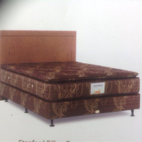 1 Set Kasur Musterring Pillowtop Plus Divan Dan Head Board 180 X 200