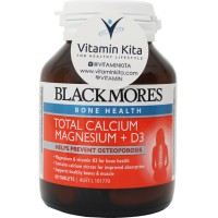 BLACKMORES TOTAL CALCIUM MAGNESIUM + D3 - 60 TAB