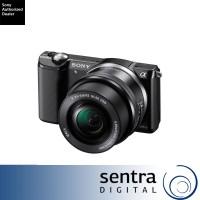 Sony Alpha 5000 kit 16-50mm (ILCE-5000L mirrorless a5000) - Black