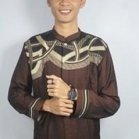 Busana Muslim Pria Dewasa Lengan Panjang Baju Koko Cowok Grosir