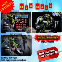 [Promo] Garskin Laptop Full Body Asus X550ZE Motif VR-46 -Free Custom