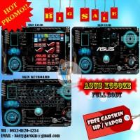 [Promo] Garskin Laptop Full Body Asus X550ZE Motif ROG -Free Custom