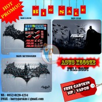 [Promo] Garskin Laptop Full Body Asus X550ZE Motif Batman -Free Custom