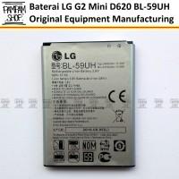 Baterai Handphone Lg G2 Mini D620 D620r F70 Original Bl-59uh Bl59uh