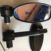 Spion Jalu Stang Oval Motor Kaca Biru Byson Xabre