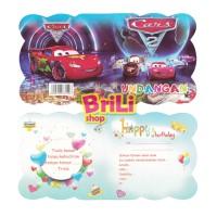 Kartu Undangan Ulang Tahun Cars | Souvenir Ultah