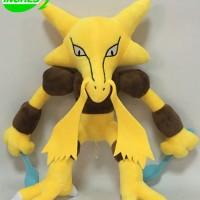 065 Boneka Alakazam 33cm Boneka Abra Boneka Kadabra Boneka Pokemon
