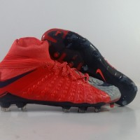 Sepatu Bola Nike Hypervenom Phantom 3 DF Red FG Replika Impor