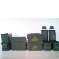 Box/ Kotak Besi Bekas Peluru Pindad Serbaguna