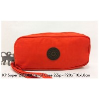Dompet Import Kipling Pencil case 2Zip 2388P  4