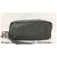Dompet Import Kipling Pencil case 2Zip 2388P 16