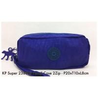 Dompet Import Kipling Pencil case 2Zip 2388P 10