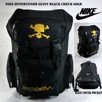 Tas Ransel Nike Bola Sekolah Pria Nike Hypervenom Giant Black Gold 2123b38eac
