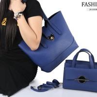 Tas Fashion Naraya 2in1 Yoes Mini BLUE Semi Ori Terbaru 2038