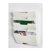 IKEA KVISSLE Wall Magazine Rack, Rak Majalah / Koran, Putih