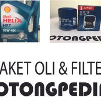 Paket Oli dan Filter HX7 - DAIHATSU XENIA / TERIOS / GRAN MAX / LUXIO