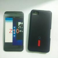 Soft Case Blackberry Z10 BB Z10 Soft Jacket Capdase Hitam