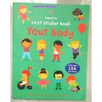 Harga usborne first sticker book your body buku import aktifitas | antitipu.com