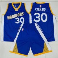 Jual Jersey Basket Tim NBA Golden State Warriors (blue/away V2) Murah