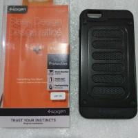 Case Iphone 7/7 Plus +/6/6s/5/5s Spigen Sleek Design Dual Layer Casing