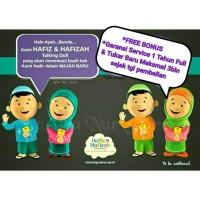 Jual [BONUS TAS] New Boneka Hafiz / Hafizah Doll Bilinguall Versi Terbaru Murah