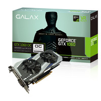 VGA  Card GALAX nVidia Geforce GTX 1060 OC (OVERCLOCK) 3GB DDR5