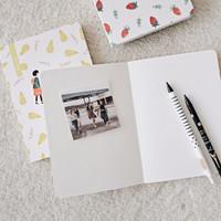 New Fruit Day Mixed Notebook / Buku Catatan Kertas Campur