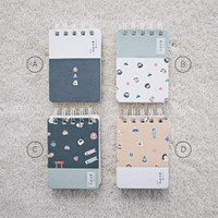 Limited Japan Culture Spiral Ruled Notepad A7 / Buku Catatan Spiral Ga