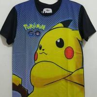 Kaos Oblong Printing 3d Tshirt Terbaru Print Bagus Murah Pokemon Go