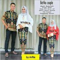 Harga batik couple jojab 1 seragam pesta hijab baju muslim | Pembandingharga.com