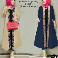 hijab outer long cardigan vest fashionable