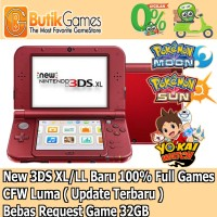 New 3ds XL / LL Nintendo 3dsxl CFW permanent 32 gb