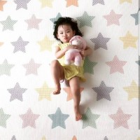 Karpet bayi PARKLON Korea Squirrel Baby Playmat PE Roll play mat Tikar