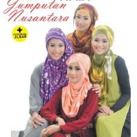 35 Gaya Hijab dengan Jumputan Kain Nusantara + Tutorial Jilbab