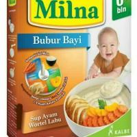MILNA BUBUR BAYI 6+ SUP AYAM WORTEL LABU