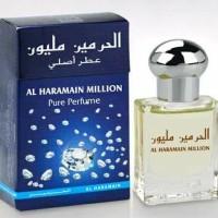 PARFUM HARAMAIN MILION   THE BEST SELLER  15ML NON ALKOHOL