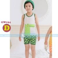 Harga setelan piyama anak gw gleoite wardrobe gw194 | antitipu.com