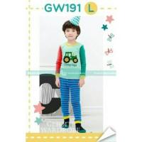 Harga setelan piyama anak impor lucu keren gleoite wardrobe gw 191 | antitipu.com