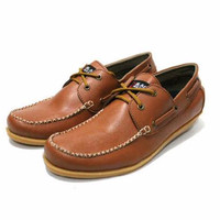 Harga spesial sepatu casual tali black master zap roda h m jakarta delta w   antitipu.com