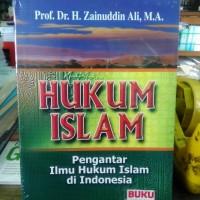 Jual BUKU HUKUM ISLAM PENGANTAR ILMU HUKUM ISLAM H. Zainuddin, yi Murah