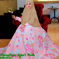 MyL Gamis Monalisa Syari Pink