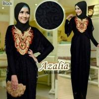 dress muslim Azalia Brokay Black 3in1