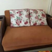sofa bed kursi ruang tamu furniture rumah plus bantal