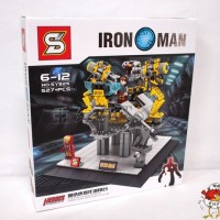 Iron Man Base - SY 825 - Super Heroes - Lego compatible